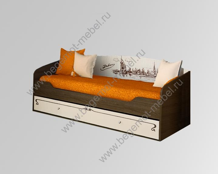 Двухъярусный диван кровать