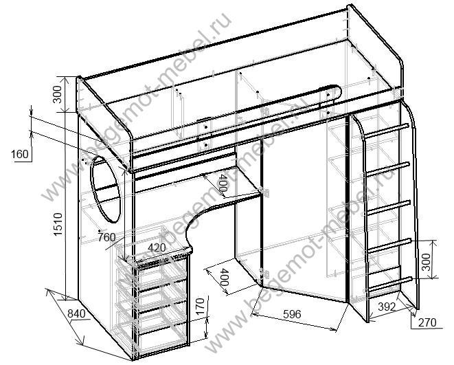 Кровать чердак своими руками чертежи и размеры схемы и проекты эскизы