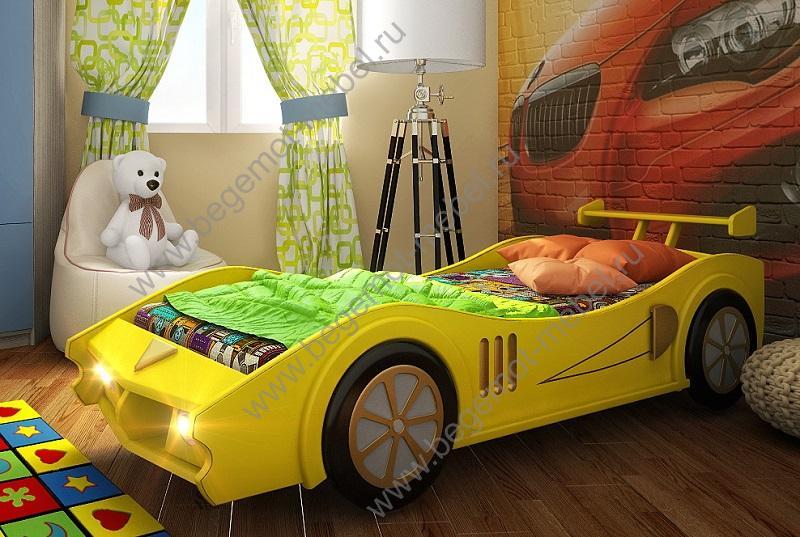 Детская кровать машина своими руками фото