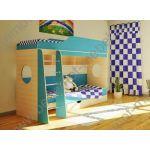 Детская двухъярусная кровать Орбита-5 - купить в Москве