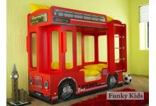 Автобус лондон цвет красный